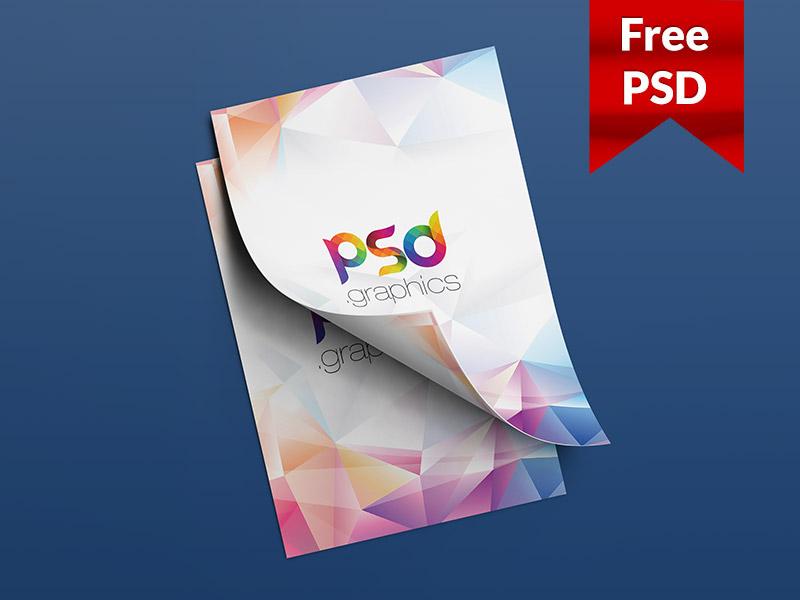 bdcce32c99a072bba5eb20cdd261bb77 - A4 Flyer Mockup Free PSD