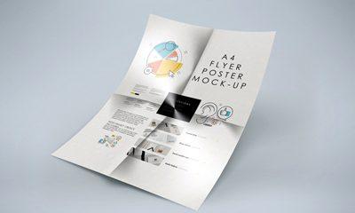 c005b4514a14b808a065560a455c9943 400x240 - Free Folded A4 Flyer Mockup