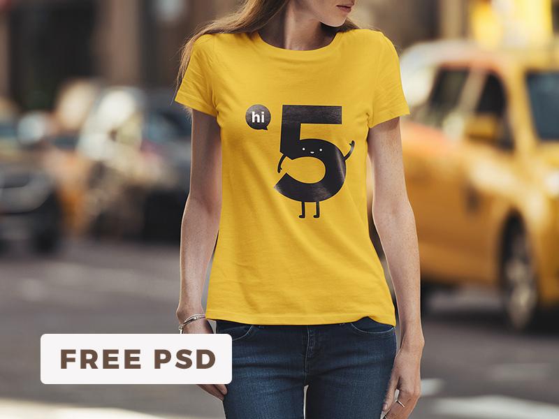 c04d9cd44c7d1c7ea5d0919342294e7b 1 - Free T-Shirt Mockup / Urban Edition