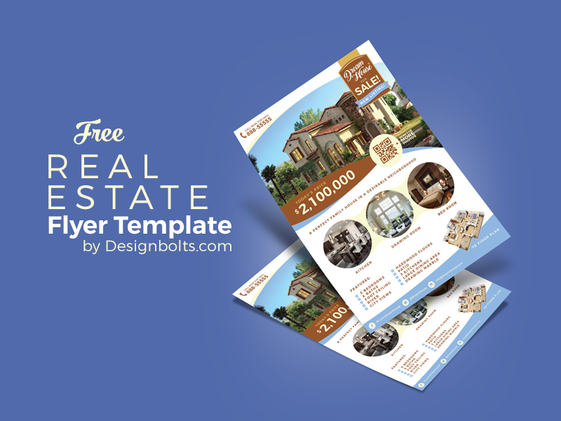 c20bfb0bef4aaea520a8b7814ddeed1f - Free Real Estate Flyer Design Template & Mock-up PSD