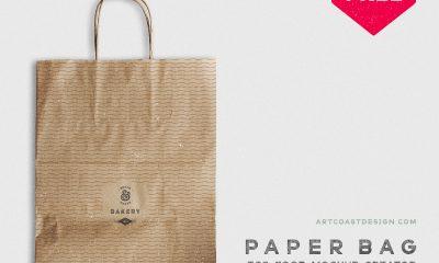 c42766b2e9f50d239ad6b619c99ccbaf 400x240 - Craft Paper Bag - Free Mockup