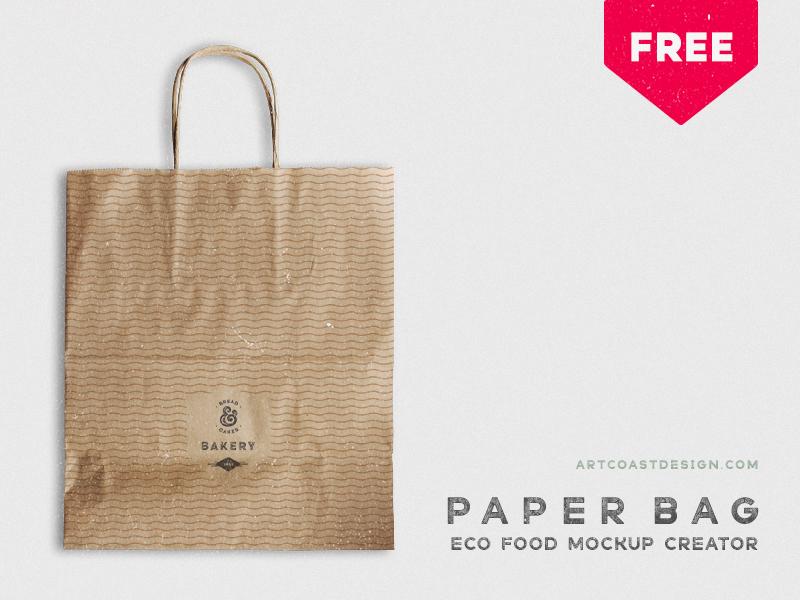 c42766b2e9f50d239ad6b619c99ccbaf - Craft Paper Bag - Free Mockup