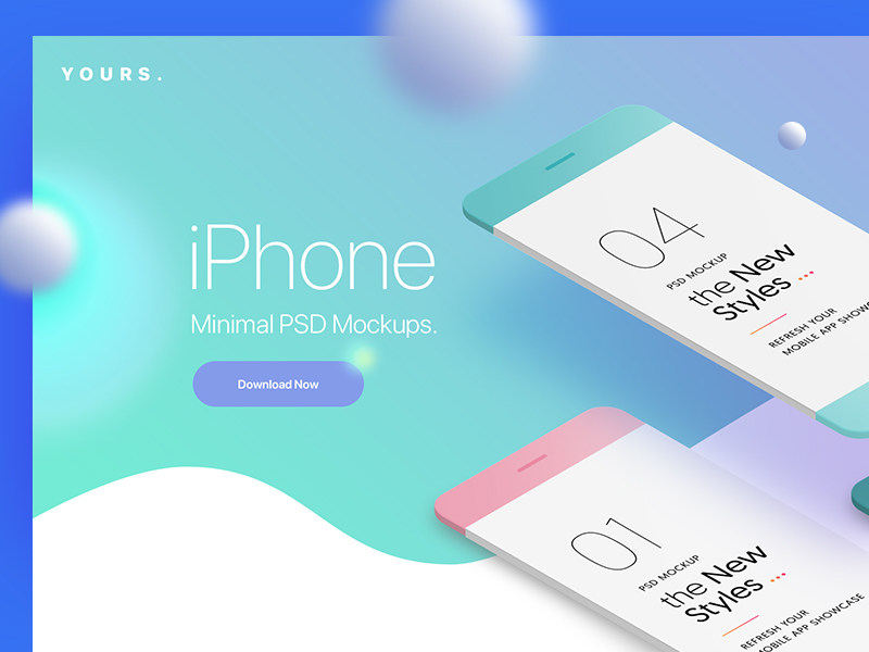 c4a69db235d22e83f0e347169133b351 - Free Gradient Banner with the Minimal Phone Mock-Ups