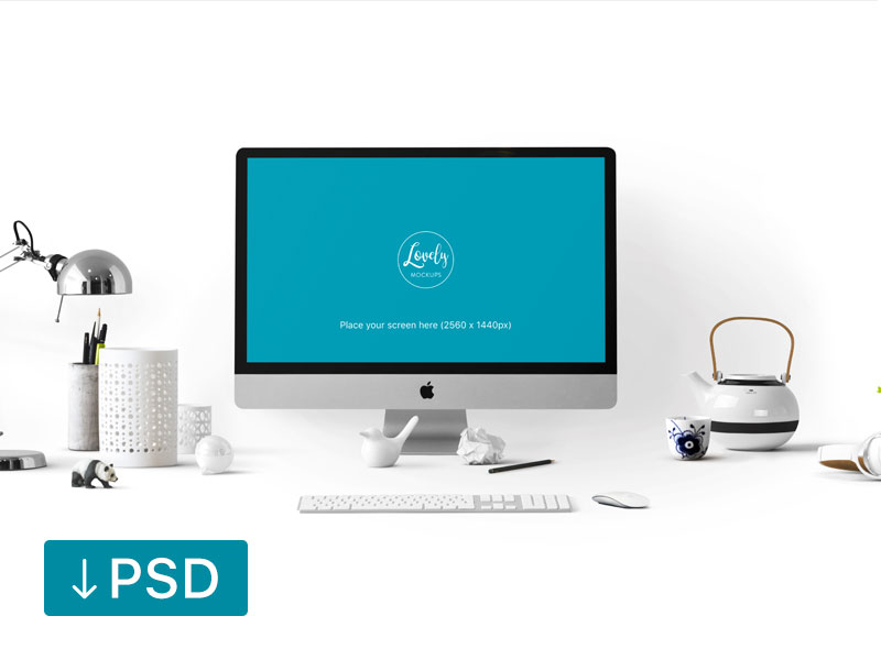 c621410515ce1697969a4713822148b1 - Stylish workspace with Apple iMac (FREEBIE)