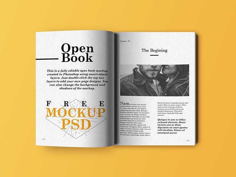 c64bbca7e495dc7f65b1dc449ad1375d - Open Book Mockup