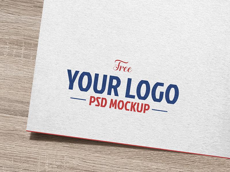 c7af4e96efb51ce8b9c7fa142c748cb3 - Free Natural White Paper Logo / Logotype Mockup PSD