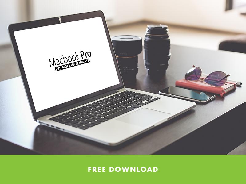 cacad026cc1f1f4ada572e3ba72bc2a0 - FREE Macbook Pro PSD Mockup Template