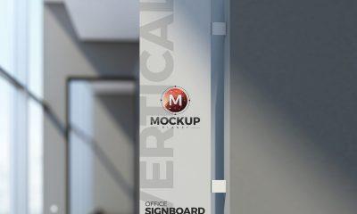 ccf511276a49aff8fdd1937bff5f531f 400x240 - Free Office Vertical Signboard PSD Mockup