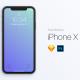 cd1bc48b2db00437be9effa8d61303d1 80x80 - [FREE] iPhone X Mockup