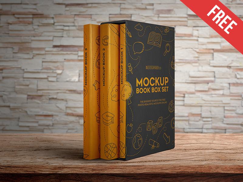 ce93c6579a858345e1acb5e0651c18e6 - Book Box Set – 2 Free PSD Mockups