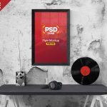 d0d277d099c4e7d223a405a1bd2cd028 150x150 - Poster mock up template Free Psd