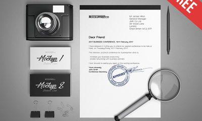 d0e51b53e8a69ca5010538441c3465a4 400x240 - Business Stationery v2 – 3 Free PSD Mockups