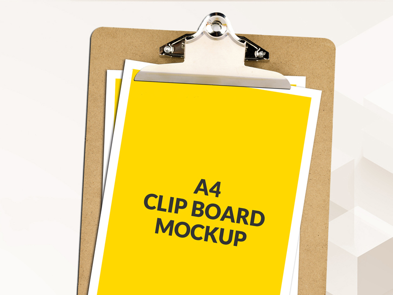 d2ca4b935d0e02c2539185bb3c37709d - Free A4 Clipboard Mockup Psd Download
