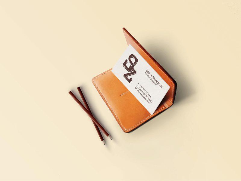 d4af2c33ed731a59ff920c1cadf71390 - Free Vintage/Retro Business Card Mockup PSD