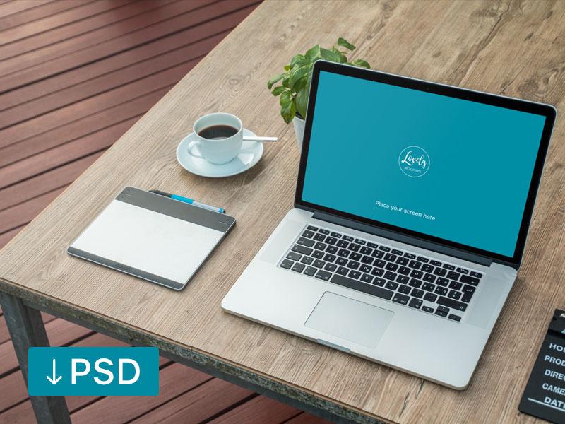 d62eca34a761b3ea881ca86ceda384bf - Macbook Next To A Fresh Morning Coffee (FREEBIE)