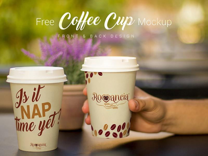 d73375ffb8b7eb70dfe048824f8a3ce6 - Free Coffee Cup Photo Mockup PSD