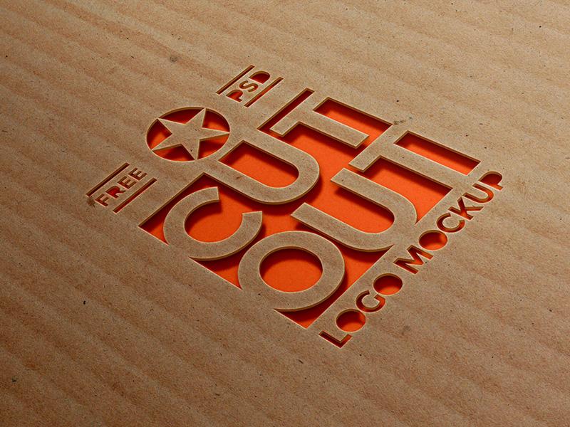 d78491a8900faf0ff9b3972f487a2ad9 - Cardboard Cutout Logo Mockup