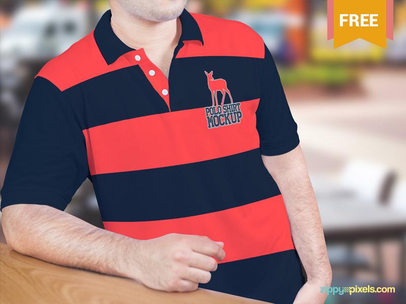 d9c0131de61f444c358fb6e55224dde0 1 - Beautiful Free Polo Shirt Mockup