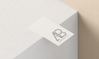 d9eb8467ea504b20037ed3da9489bdf5 400x240 - Business Card With Cutout Mockup