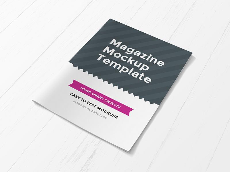 dbe4e663af923970cca4cc3baa3c6646 - Freebie: Magazine Cover Mockup