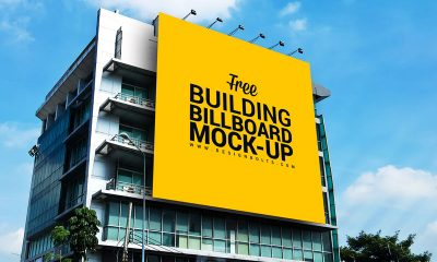 dc4ad0ec1f6775704ee175a4ca1006bf 400x240 - Free Outdoor Advertisement Building Billboard Mockup PSD