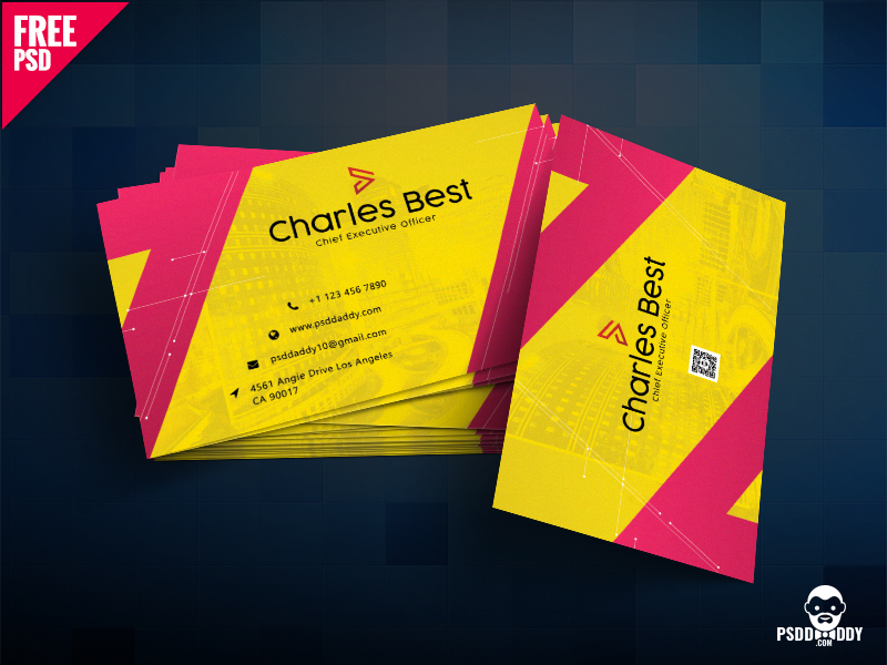 dd20428ecc7f873023d72e786f535147 - Creative Business Card Template PSD Free Download