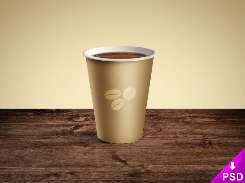 e5507f830b5eebd4cf1d5b6855dba6c9 - Coffee Paper Cup Mockup