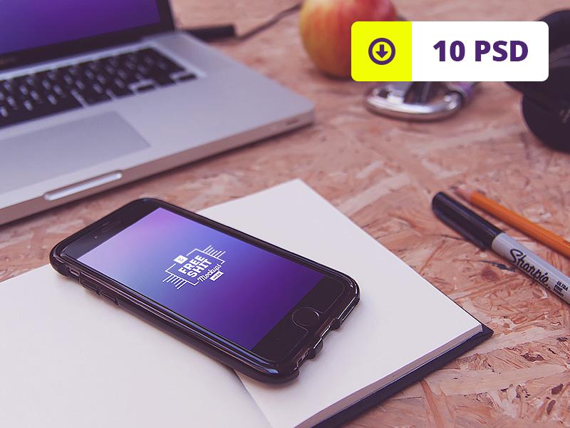 e6cb4dee56bcf9abb6f2d0f9417bdfd1 - FreeShit iPhone & Macbook mockups vol.2