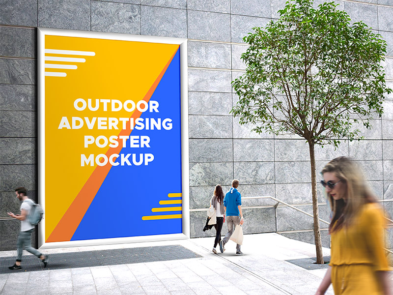 e71f46123f48ba109e7cdceeb7d2e23e - Outdoor Advertising Mockup PSD