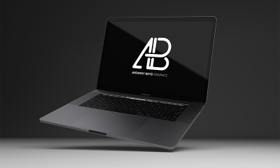 e7c08ee52391d8ba5f6c13320e2bda84 400x240 - Realistic 2016 Space Gray MacBook Pro Mockup Vol.8