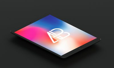 e7ffe913fa40f82fc42b6df16e76355c 400x240 - Isometric Matte Black iPad Pro 10.5 Mockup