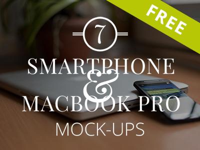 e8d8105ff649e86cbde70554fb60c4f9 - 7 FREE Smartphone & Notebook PSD Mockups