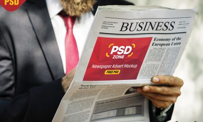 eaccb3525caa56499f71a82f90492d89 400x240 - Newspaper Advertisement Mockup Free PSD