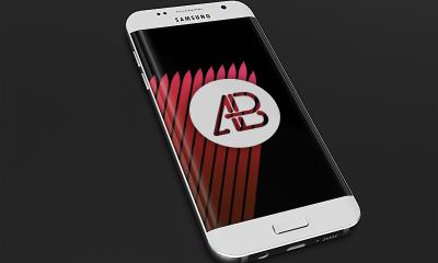 ebd24a108e8a0116ad4127f88c368275 400x240 - Realistic Samsung Galaxy S7 Mockup