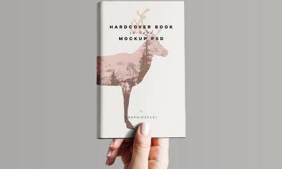 ebf2ba3c7aafd3250fd6ef7c8a9b73d2 400x240 - Hardcover Book In Hand Mockup