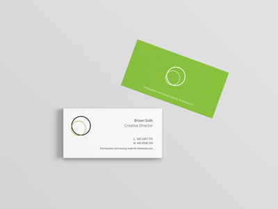ed5cab20649cacca70505ed0b1dbd8ee - Business Card Mockup (Psd)