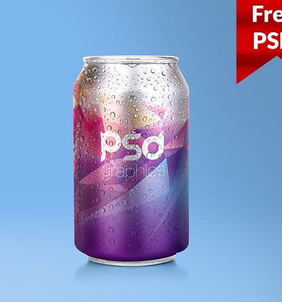 edd79c31b5cca1327e3db68cc117e7e6 560x600 - Soda Can Mockup Free PSD