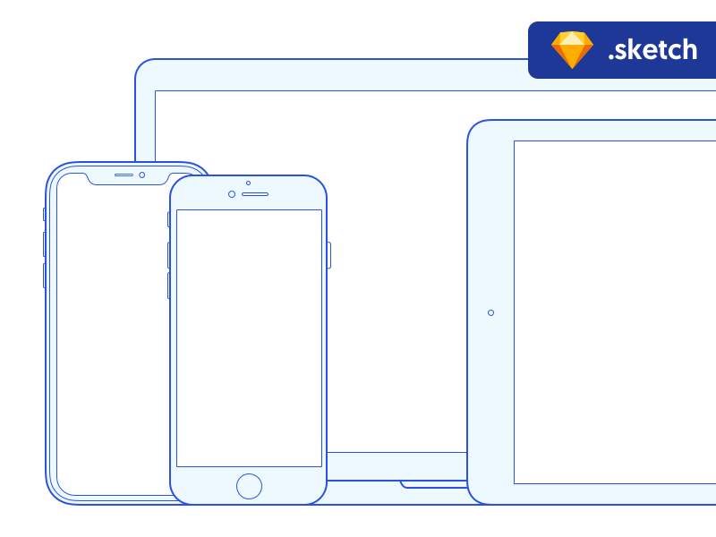 eeb466e4fdaf8821c3c4870e6985a3fe - Free Sketch mockups: Apple devices