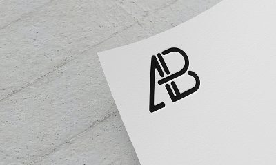 f3dbb0c385cf71414ffba657a4821529 400x240 - Paper Logo Mockup