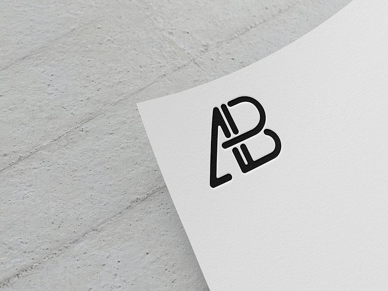 f3dbb0c385cf71414ffba657a4821529 - Paper Logo Mockup