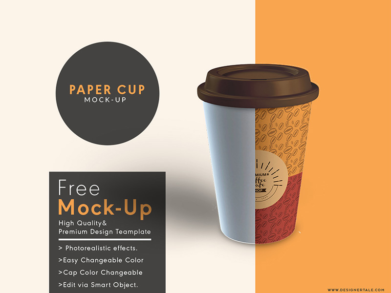 f42ec9f947ea040172b0488bf1761f23 - Download Paper Cup Mock Up Free Psd Template