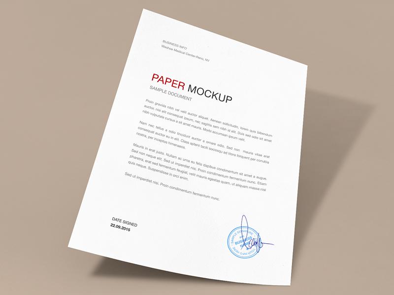 f4abfa5e1b38e831e922c5cedc9aa286 - FREEBIE: Paper Mockup