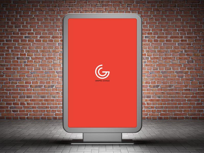 f68697f88f454a19e9422b3b6922e6fa - Free Street Billboard Mock-up For Branding & Advertisement