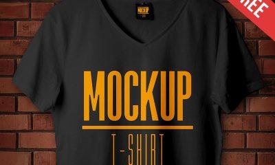 f69bbfc632c1457f37f0a3443f1f5438 1 400x240 - Studio T-shirt - Free PSD Mockup