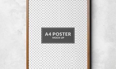 f788d9345c11c5aa6533644d312dbc8f 400x240 - Poster mock up template Free Psd