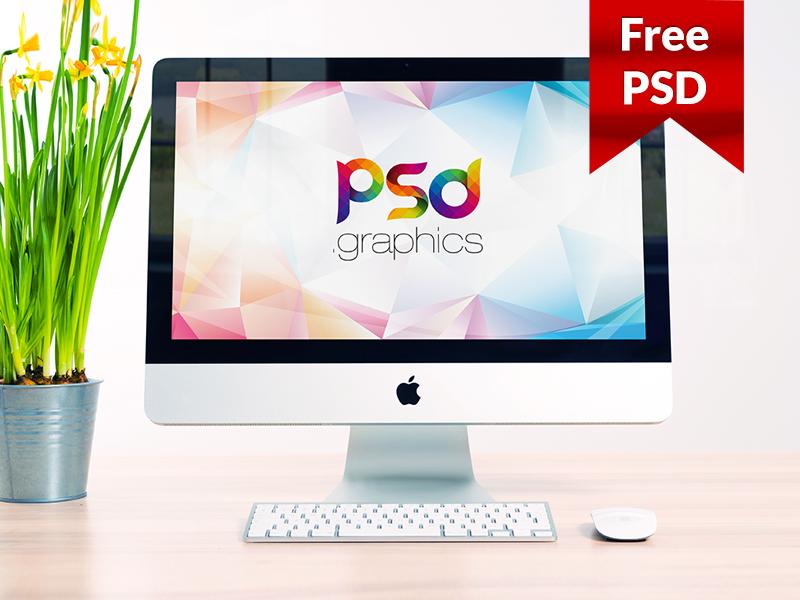 fcc704ba04122beb5a0a5809e9b83159 - iMac Mockup Free PSD