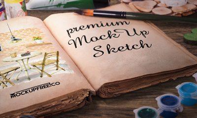 fe9a02f0d932f88666bc345f00943d7c 400x240 - Artist Sketch Book – 6 Free PSD Mockups