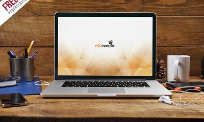 ff02ece65f3345775b8eb6e72204070e 400x240 - Free PSD : Macbook Pro Front View Mockup Free PSD
