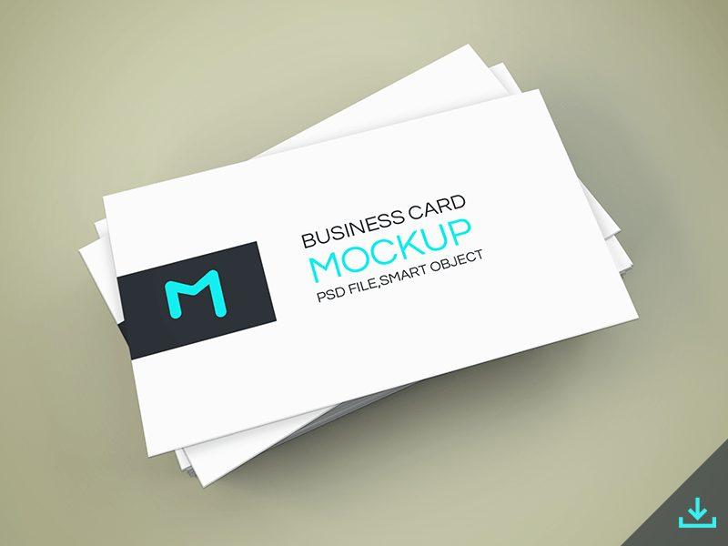 ff7ba4140ec4059eadbe1290b84826fc - Freebie - Elegant Business Cards Mockup